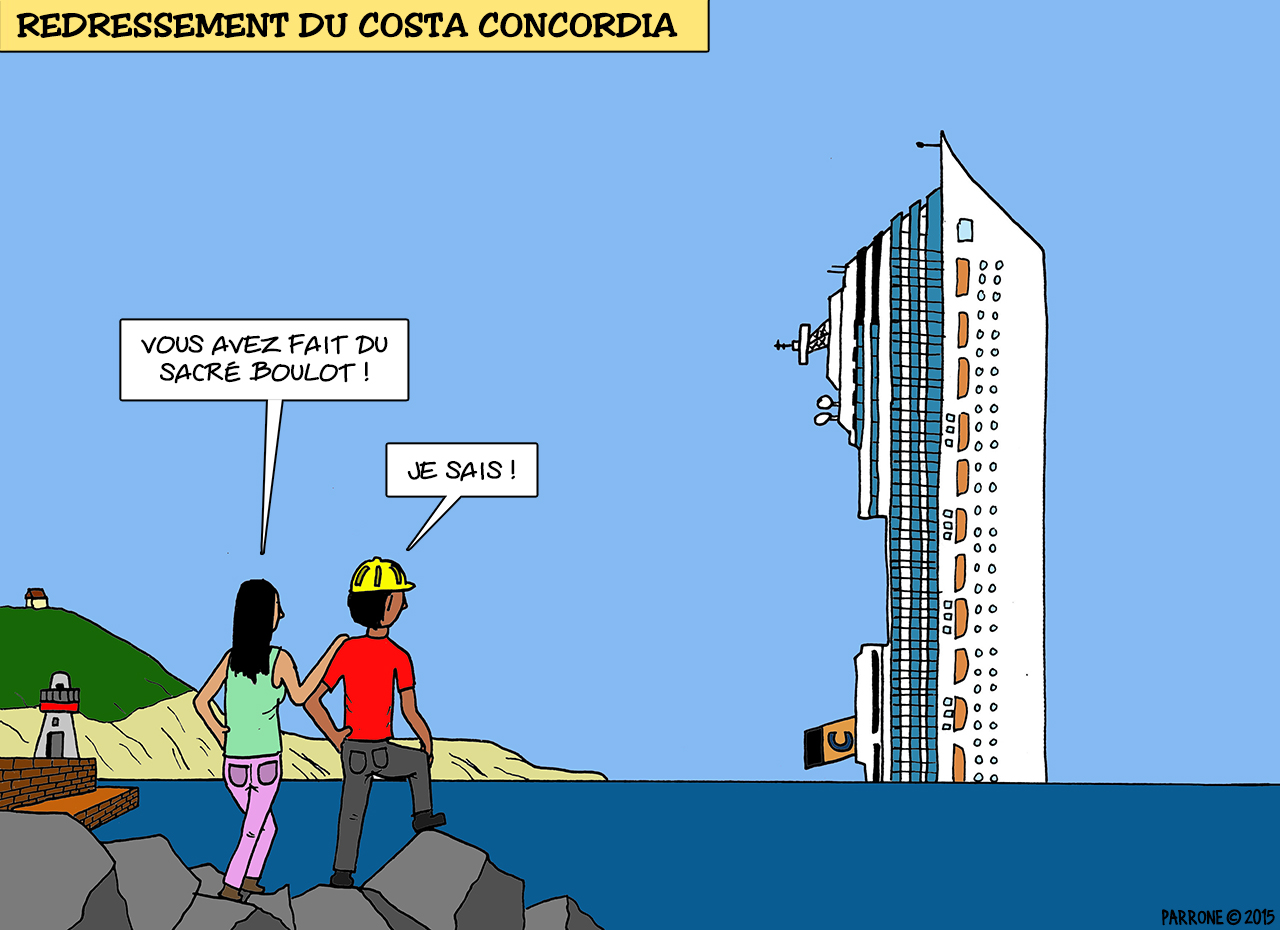 Redressement du Costa Concordia