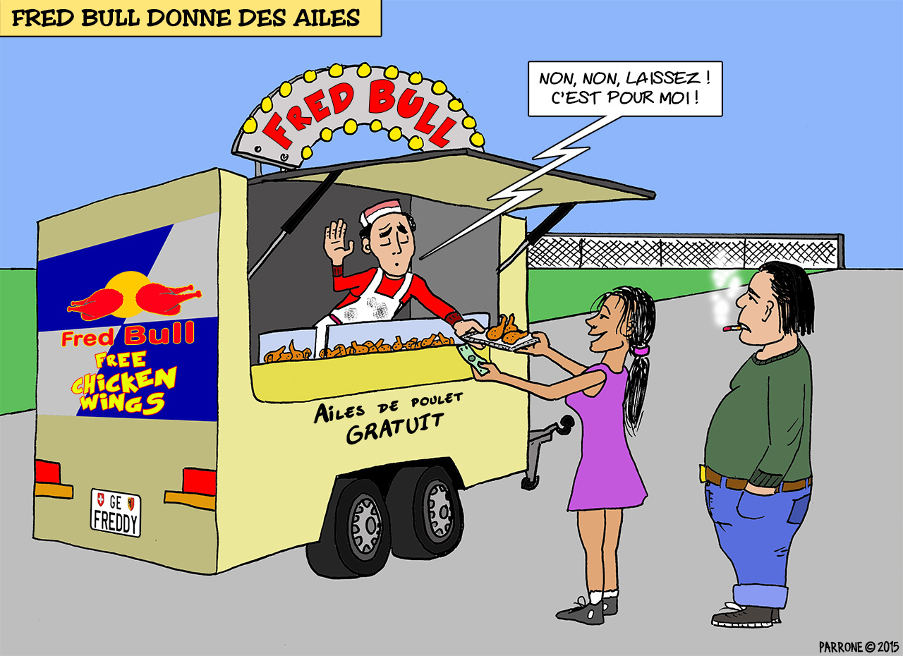 Fred Bull donne des ailes