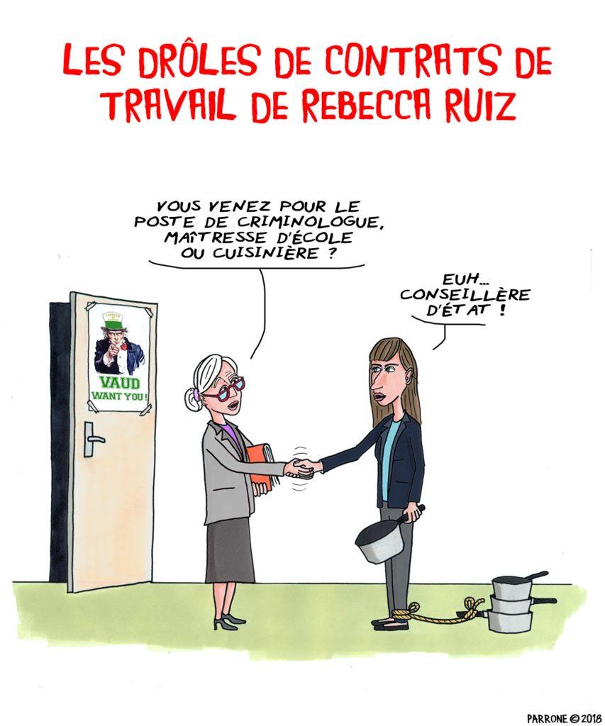 Les Droles De Contrats De Travail De Rebecca Ruiz